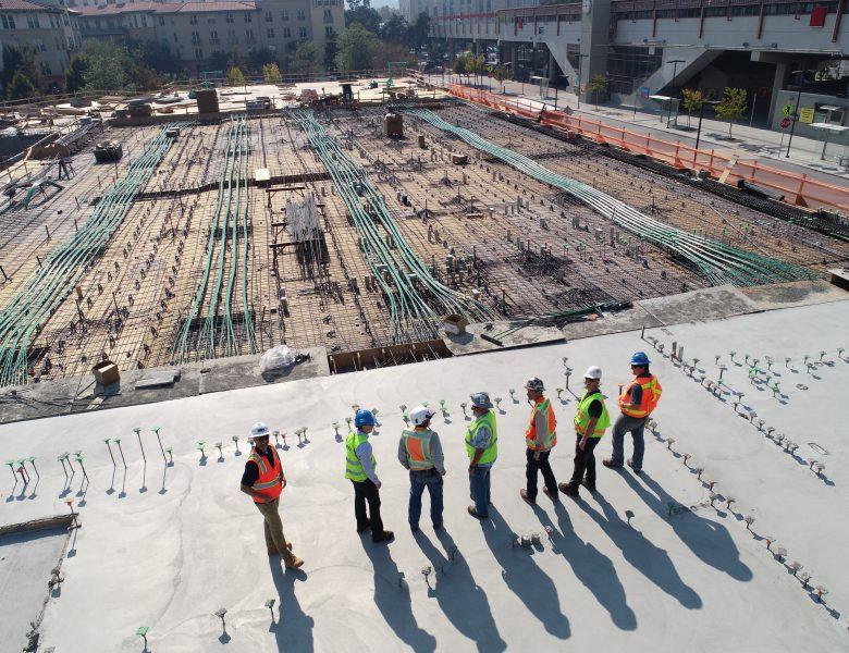 Surveillance des vibrations sur le chantier